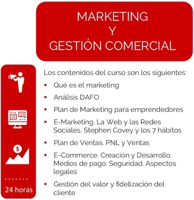 Curso Marketing y Gestión Comercial Lauburu Consulting
