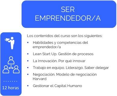 Curso Ser Emprendedor/a Lauburu Consulting